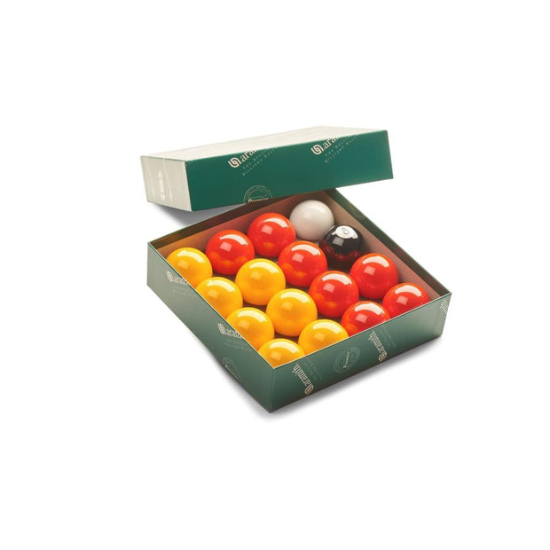 Aramith Premier League Pool Balls (Reds & Yellows)