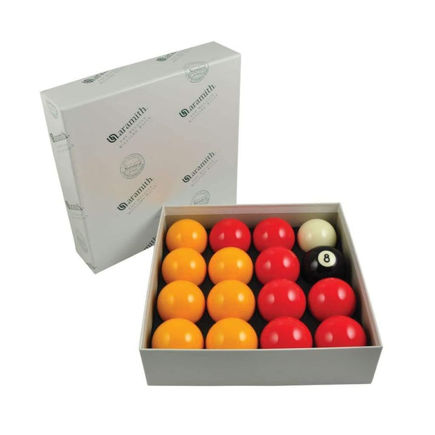 Aramith Standard League Pool Balls (White Box)