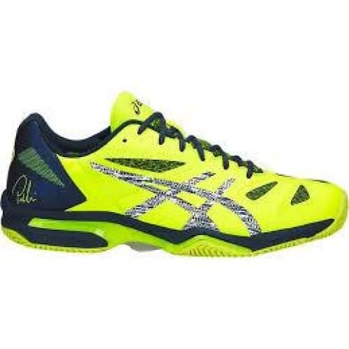 Asics Gel-Lima Padel Safety Yellow/Dark Blue - 9.5