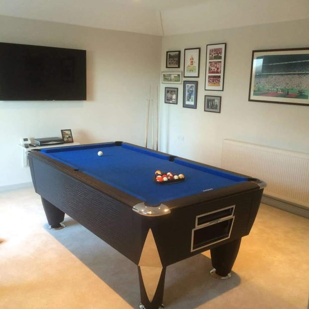 Atlantic Pool Table - Freeplay or Coin Operated Table