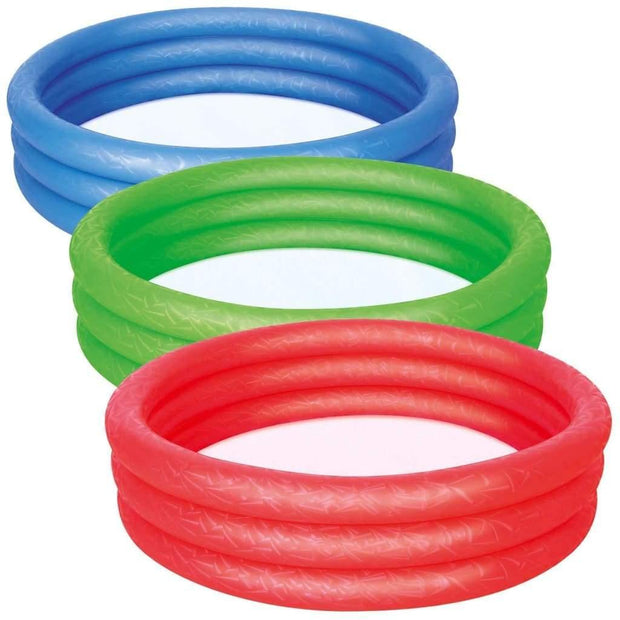 Bestway Splash and Play 3 Ring Play Paddling Pool