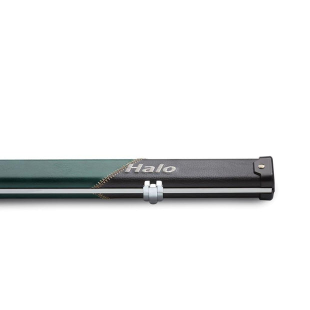 Black & Green Stripe 'Halo' Thin Case for One Piece Cue
