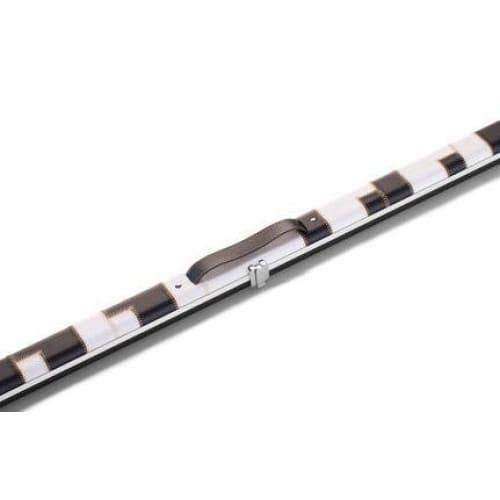 Black & White Patch 'Halo' Thin Case for One Piece Cue