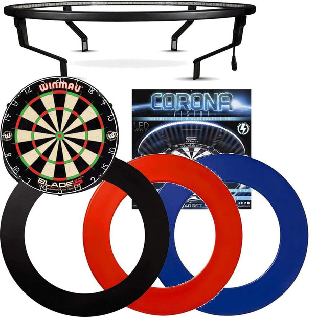 *Bundle Deal* - Blade 5 Dartboard - Corona Light - Plain