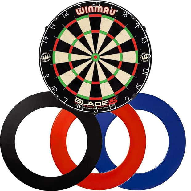 *Bundle Deal* - Blade 5 Dartboard - Plain Surround (3