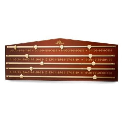 Mahogany Coloured Marking Board