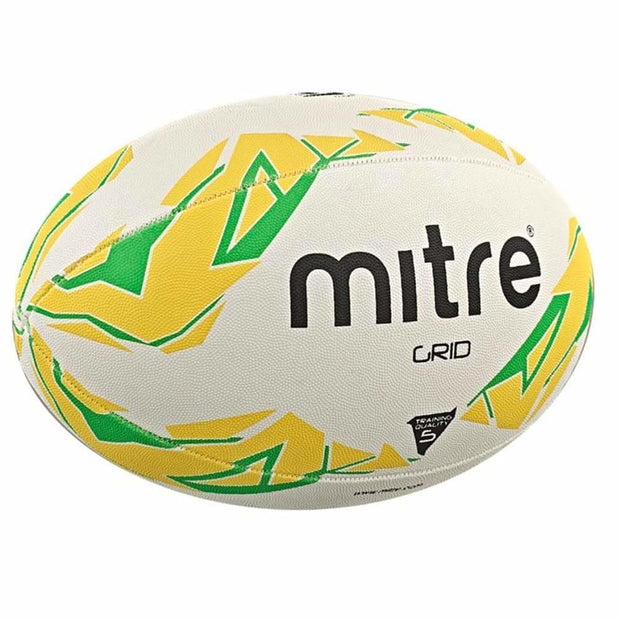 Mitre Grid Rugby Ball - 3