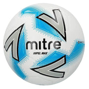 Mitre Impel Max Training Ball - White/Silver/Blue / Size 3