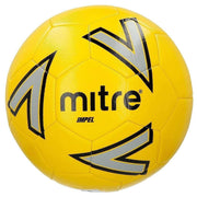 Mitre Impel Training Ball - Yellow/Silver/Black / Size 4