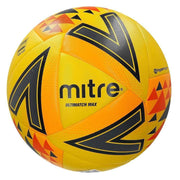 Mitre Ultimatch Max Match Ball - Yellow/orange/black / Size