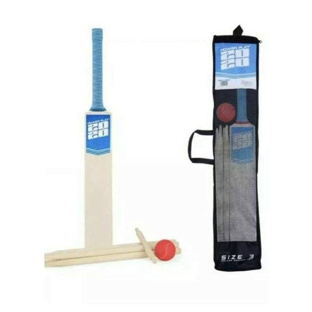 Power Play 2020 Size 3 Deluxe Cricket Set