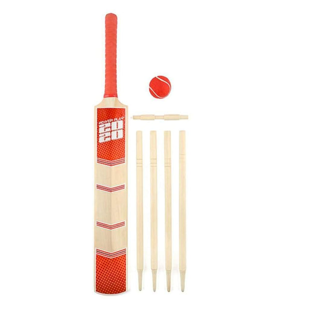 Power Play 2020 Size 5 Deluxe Cricket Set