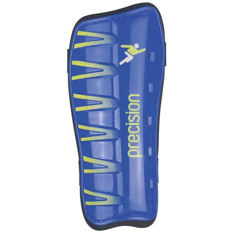 Precision League Slip-in Pads - Blue/Fluo Lime / XSmall