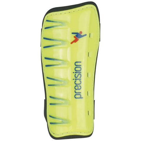 Precision League Slip-in Pads - Fluo Lime/Blue / XSmall
