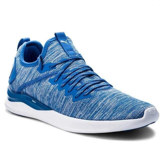 Puma Ignite Flash Evoknit Strong Blue-White - 8