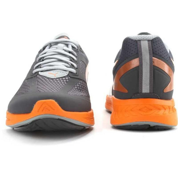 Puma Ignite Mesh Periscope-Quarry-Verm Orange - 7.5
