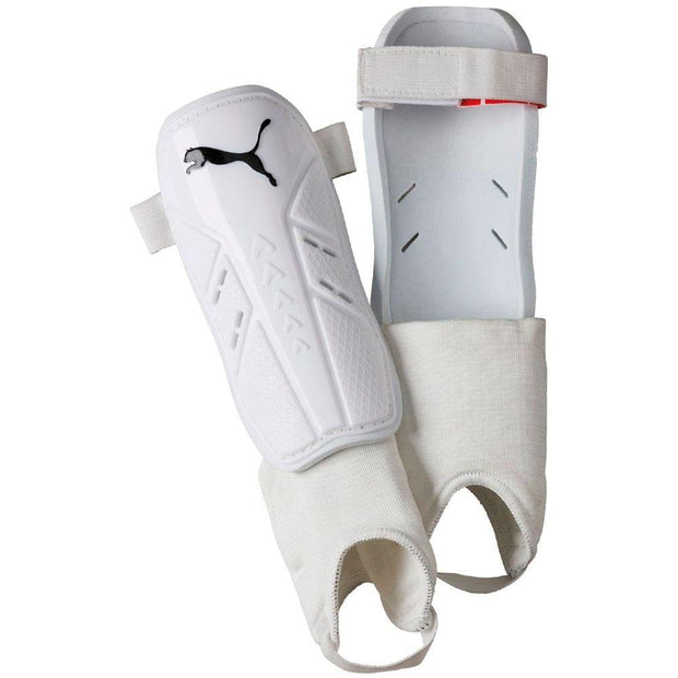 Puma Pro Training II Shin & Ankle Guards - White/Black /
