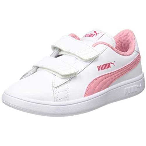 Puma Smash V2 L V Ps Sneakers White - Pink - 3