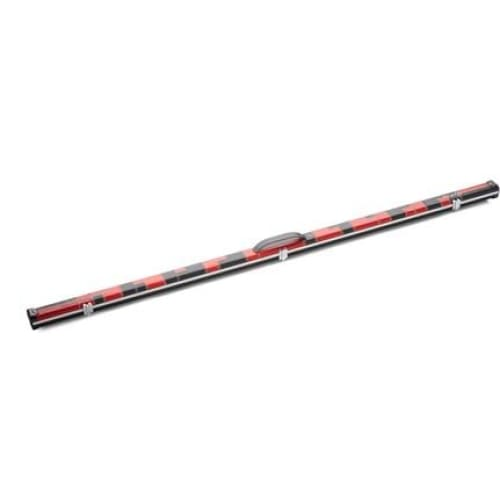 Red and Black 'Halo' Thin Case for One Piece Cue