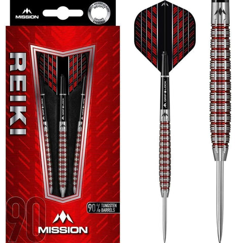 Reiki Darts M2 Mission Darts 22g and 24g