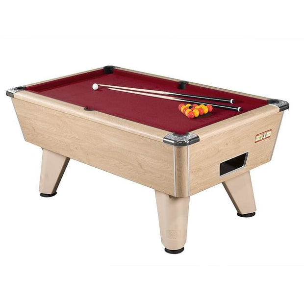 Supreme Winner Pool Table - Freeplay or Coin Operated Table