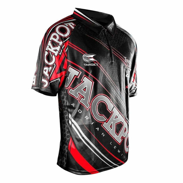 Target Darts - Adrain Lewis 2017 Cool Play Shirt - XSmall