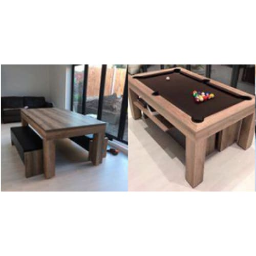 The Milano Dining Room Pool Table