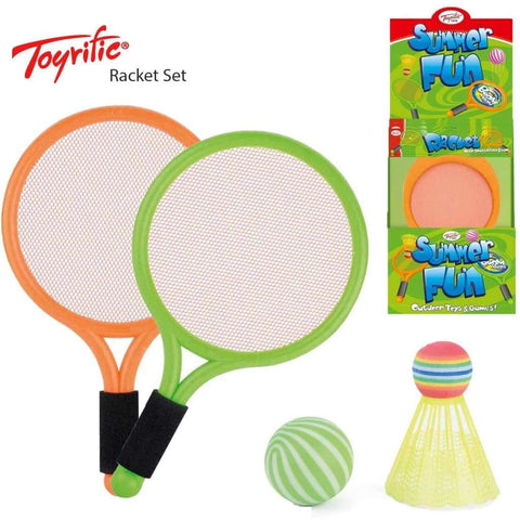 Toyrific Racket with Shuttlecock & Ball