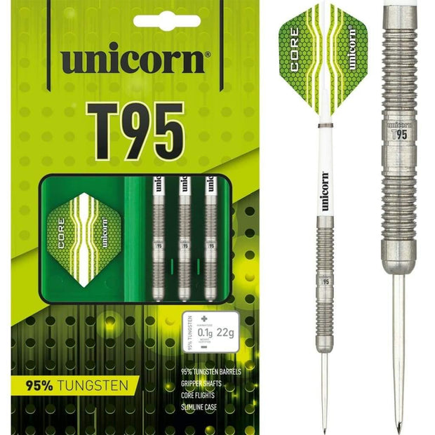 Unicorn Darts T95 95 Tungsten 22g 26g