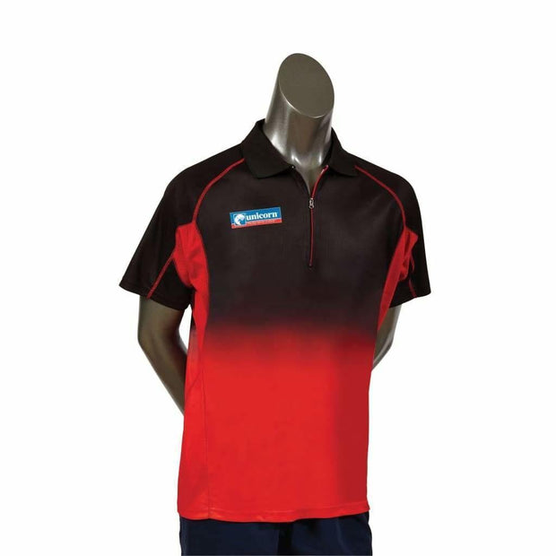 Unicorn Pro Dart Shirt - Black & Red - 3XLarge - Clothes