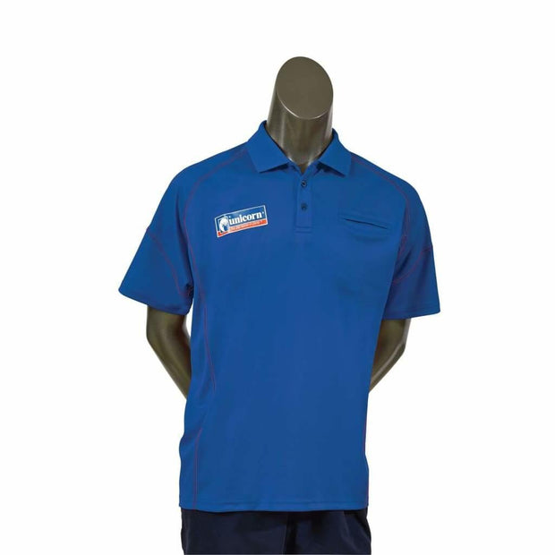 Unicorn Team Dart Shirt - Blue - Small - Clothes