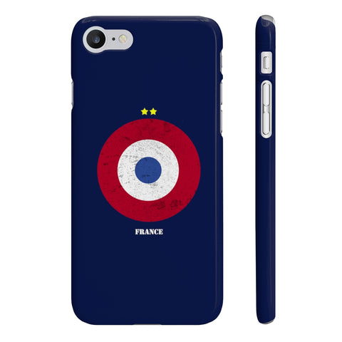 Coque Iphone Samsung football cocarde France