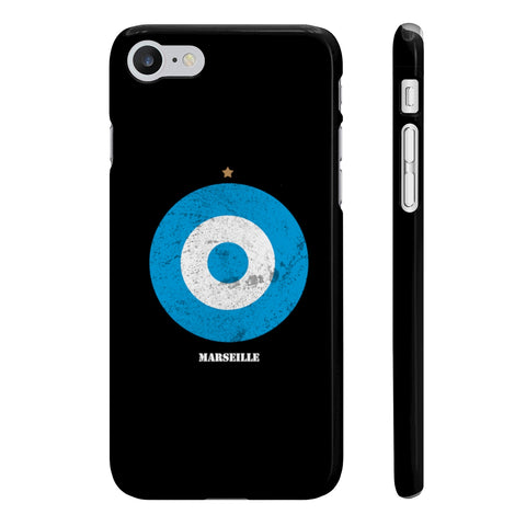 Coque Iphone Samsung football cocarde Marseille