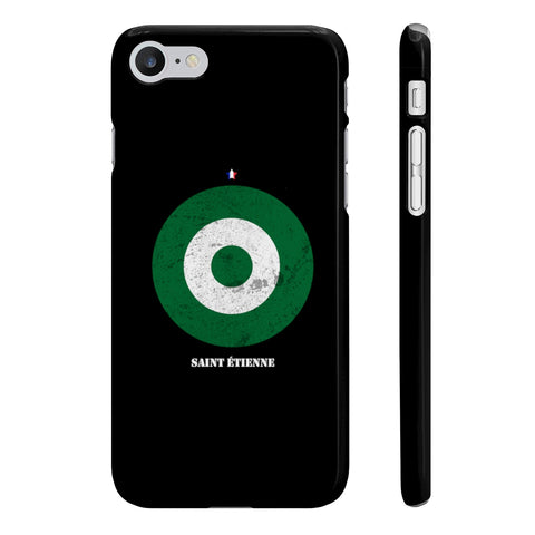Coque Iphone Samsung football cocarde Saint Etienne