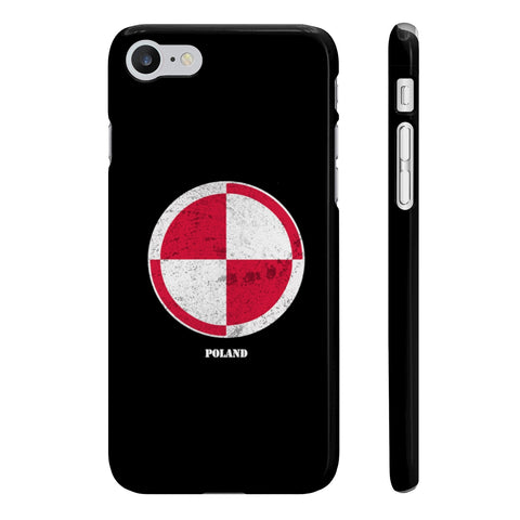Coque Iphone Samsung football cocarde Pologne
