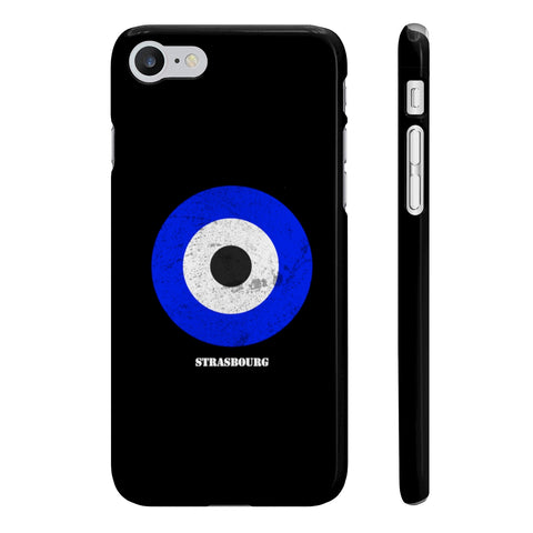 Coque Iphone Samsung football cocarde Strasbourg