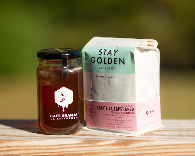 Cafe Granja La Esperanza Coffee + Honey Set