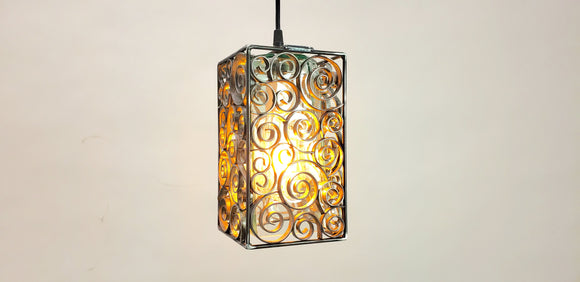 DERVISH Collection - Kondita - Wine Barrel Ring Pendant Light