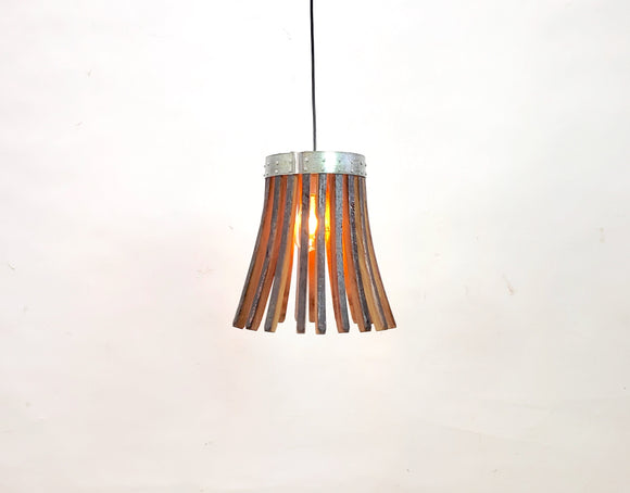 CRAFTSMAN Collection - Krilo - Wine Barrel Pendant Light - 100% Recycled & Free US Shipping!