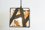 SAFARI Collection - Kubo Mini - Wine Barrel Ring Pendant Light