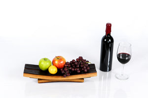 SERVING TRAY - Kuveza - Wine Barrel Serving Tray