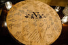 "BARREL ART Collection - ""Rotar"" Custom Engraved Barrel Head Lazy Susan"