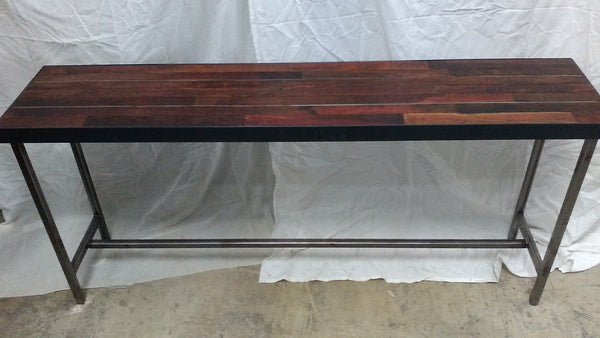 DISPLAY MODEL - Wine Tank Console Table