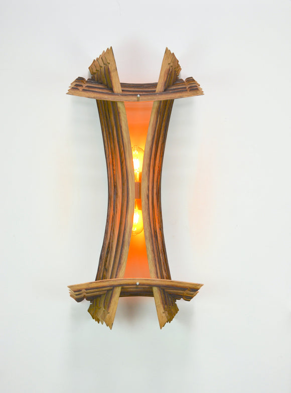VEDI Collection - Tagata - Wine Barrel Wall Sconce - 100% Reclaimed & Built in CA + Free Shipping!