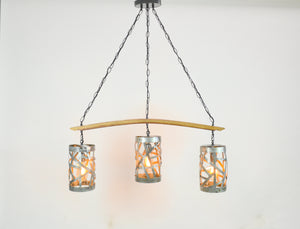 WIVA Collection - Rytas - Wine Barrel Ring Chandelier