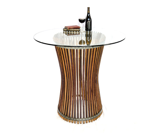 CRAFTSMAN Collection - Halesia - Wine Barrel Pub or Tasting Table