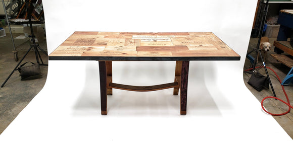 CRATE Collection -Besta - Wine Crate Dining Table