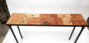 CRATE Collection -Besta - Wine Crate Console Table