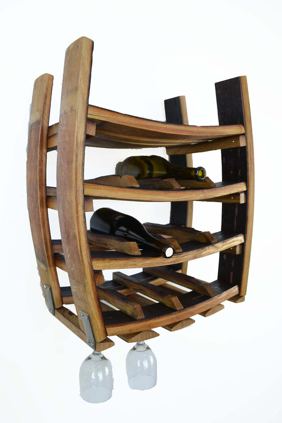 WINE RACK Collection - Loire  Hanging Wine and Glass Rack