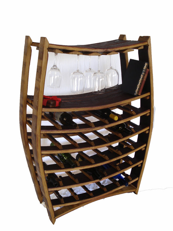 WINE RACK Collection - Chablis - Large Wine and Glass Rack